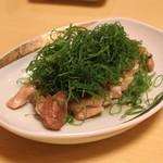 宮川本廛 - 地鶏の九条葱焼き ~にんにく風味~