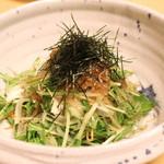 宮川本廛 - 淡路産じゃこ と 自家製豆腐のサラダ