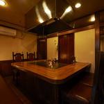 ステーキ ヨシノ - 奥の個室