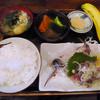 弁慶 - 料理写真:アジたたき定食
