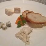 クリオッソ - チーズの盛り合わせ