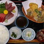 ○気 - ○氣刺身定食(お昼:850円)