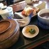 割烹 ともゑ - 料理写真:蓮根の挟み揚げがメインの日替わり定食650円