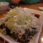 のりさん - 豚ばらネギポン酢350円
