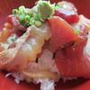 とびしま - 料理写真:680円『ヅケ丼』2013年10月吉日2日目