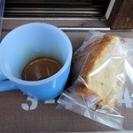 ソルズコーヒー - エスプレッソ、シフォンケーキ
