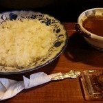 茶豆 - ポークカレー900円也 2013.11