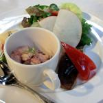 The 華紋 - 前菜三種
