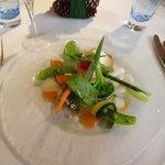 レストラン・マッカリーナ - 前菜 インゲンが特においしい