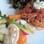 レストラン・アダージョ - 前菜とパスタ