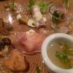 イルポッジョ - 前菜のアップ(11月)