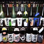 神の斬新 - こだわりの焼酎、日本酒がズラリ