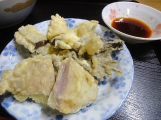 お食事処ひろ - ホルモン天ぷら