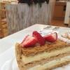アンリ・シャルパンティエ - 料理写真:イチゴのミルフィーユ【520円】