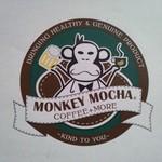 モンキーモカ コーヒープラスモア - このロゴマークが目印です