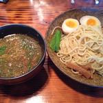 はぐるま - 2013.11.22 はぐるま 牡蠣の柚子塩つけ麺