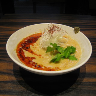 天雷軒 九段下 - 料理写真:薬研堀坦々麺 900円