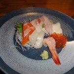 釜と七厘 - 盛りつけがきれい キジハタという高級魚も