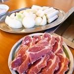 成吉思汗さくら - 料理写真:ラム定食¥1000