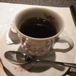 眞 - まさかのコーヒー。