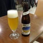 カフェ・エスペラーンス - オーガニックビール500円