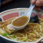 ストライク軒 - 1-3)ストレートのスープ