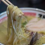 ストライク軒 - 2-2)シンカーの麺