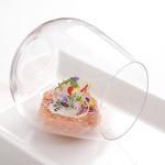 リストランテ ASO - 料理写真:サーモンのオジェット