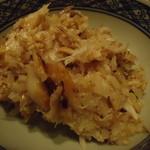 旬鮮炭火焼 獺祭 - 土鍋炊き込みご飯「鯖」