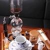 昔ながらの喫茶店友路有 - 料理写真:サイフォン珈琲:お客様ご自身に珈琲豆を挽いていただき、2杯分お楽しみ頂けます。