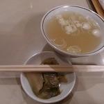 清風楼 - スープ