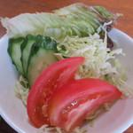 お食事処花茶碗 - サラダ付き