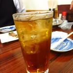 さのや - ウーロン茶サワー350円