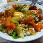 香根 - 料理写真:香根特製丼