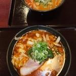 八味一心 - 辛味噌ラーメン 630円 と 辛醤油ラーメン 630円 【 2013年11月 】
