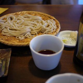 うずら家 - 料理写真:ざるそば~☆