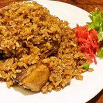 龍の髭 - 豚角煮チャーハン