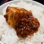 一創 - マーボー豆腐(激辛)オンザライス