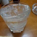 22757066 - 芋焼酎「佐藤」500円也。