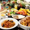 スクエア - 料理写真:ディナービュッフェは2100円~。結婚式の二次会や各種ご宴会にも人気です。