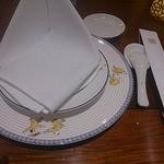 萬珍樓 - テーブルセット