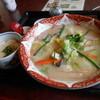 むぎの里 - 料理写真:長崎ちゃんぽんうどん とろろご飯セット1207円
