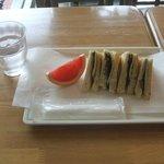 神奈川近代文学館 - 和風サンド