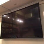ブルックリンダイナー - 60インチのTVがありますので、サッカー観戦・DVDの映像を流す事(貸切時)もできます!