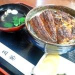川安 - 料理写真:うな丼特上吸付