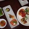キッサコ - 料理写真:ランチは二週間に一度メニューが変わります。