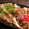 """逢阪にこにこ庵 - 料理写真:""""逢阪にこにこ庵""""名物≪そば焼き≫ 当店店主が自信を持ってご提供! クセになります。。。"""