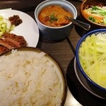 牛たん炭焼 利久 - 料理写真:まる得利久セット(ランチ)