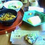 料理屋なかむら - あつあつの出汁巻き卵鰆西京焼き