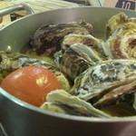 かき小屋ランドリー - 牡蠣バケツっちゃ